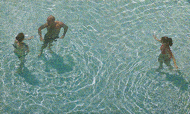 William Betts, Untitled, Swimming Pool XIII 2010, Acrylic on canvas