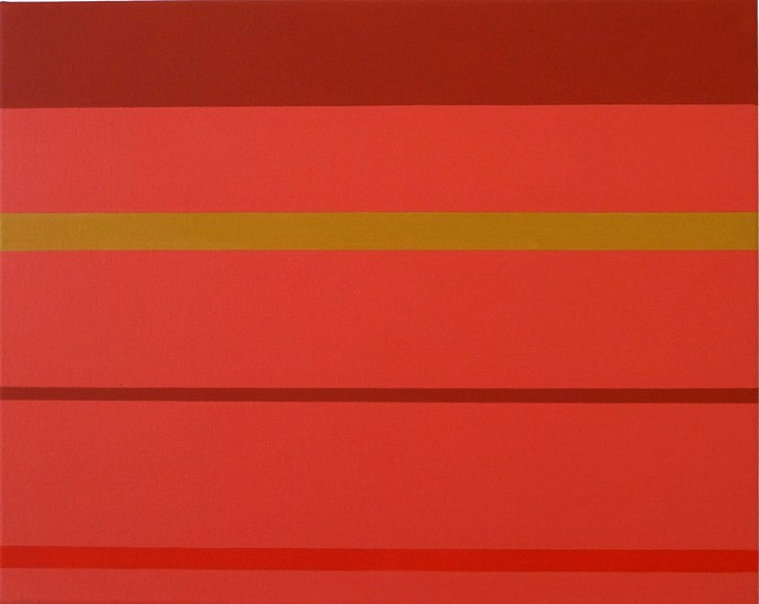 Frank Badur ,   #10-10  ,  2010     Oil and alkyd on canvas ,  16 x 20 inches (41 x 51 cm)
