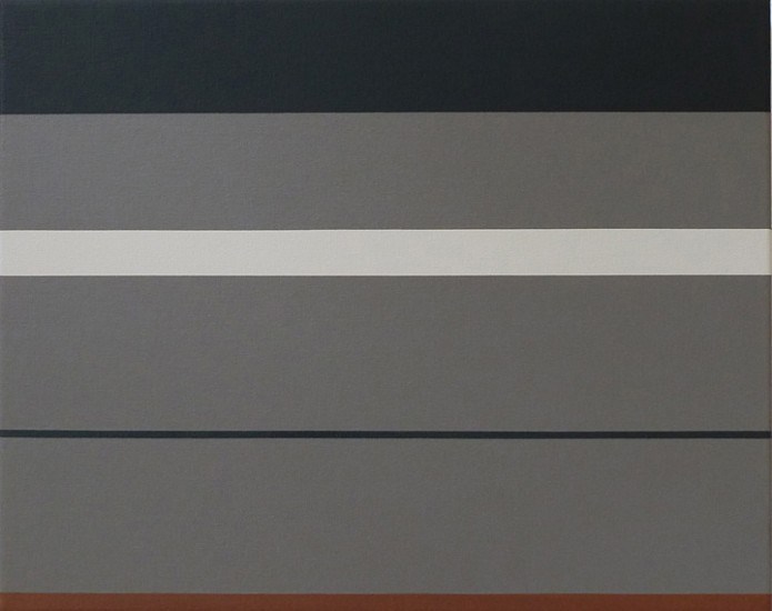 Frank Badur ,   #11-17  ,  2011     Oil and alkyd on canvas ,  16 x 20 inches (41 x 51 cm)