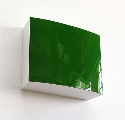 Bill Thompson ,   Perph II  ,  2009     Urethane on polyurethane block ,  12 x 15 x 5 inches (31 x 38 x 13 cm)
