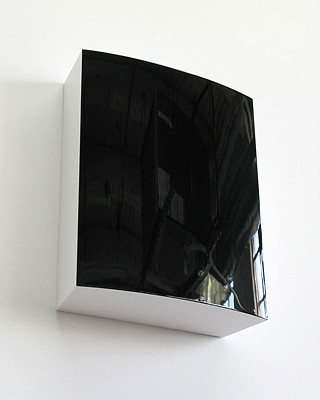 Bill Thompson ,   Perph III  ,  2009     Urethane on polyurethane block ,  16 x 13 x 5 inches (41 x 33 x 13 cm)
