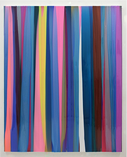 Cathy Choi, S1401 2014, Acrylic, pigment, and resin on canvas
