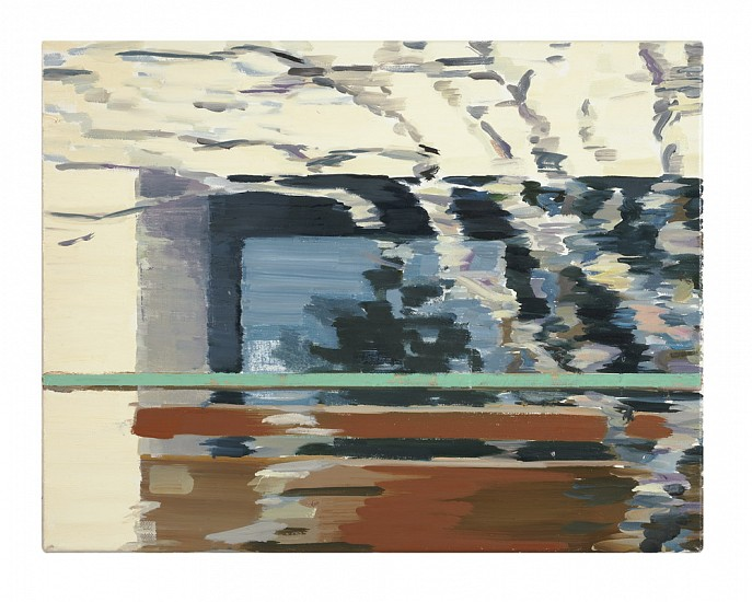 Monica Tap, Homer Watson Boulevard (balcony) 2007, Oil on canvas