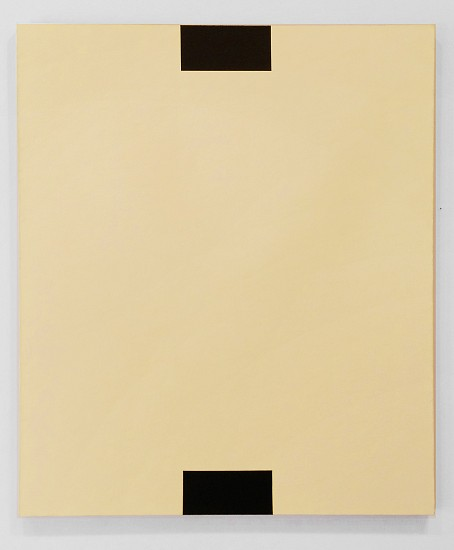 Frank Badur, Untitled (Yellow) 1994, Oil and alkyd on linen