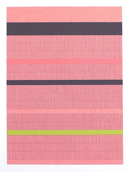 Frank Badur ,   #D12-29  ,  2012     pencil and gouache on paper ,  12 x 8.5 inches (30 x 22 cm)