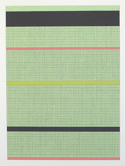 Frank Badur ,   #D12-28  ,  2012     pencil and gouache on paper ,  12 x 8.5 inches (30 x 22 cm)